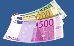 Cash payments with euro are available